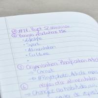 Organisation: La planification de mes articles