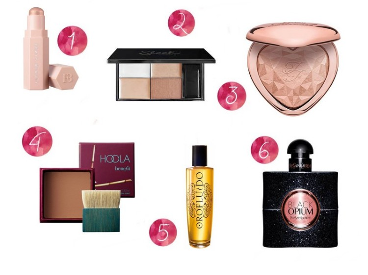 wishlist noël make up 2