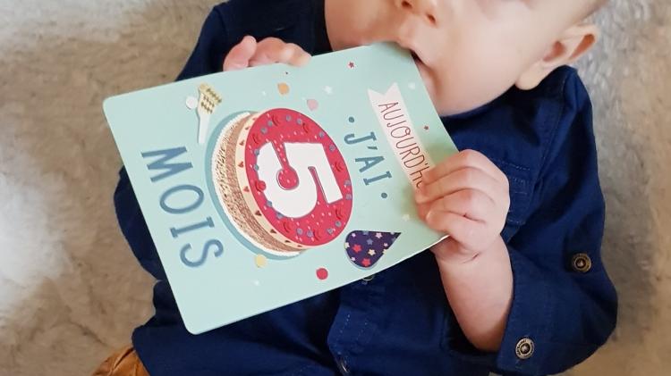5 mois bébé