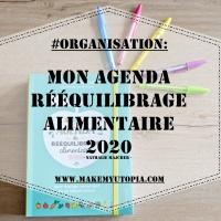 #ORGANISATION :Mon agenda de rééquilibrage alimentaire 2020 - Nathalie MAJCHER
