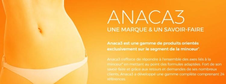 #TESTPRODUIT - Anaca 3 - minceur & savoir faire