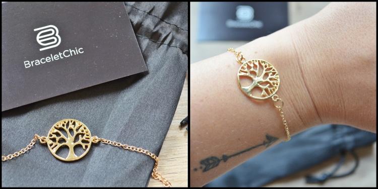 Bracelet chaine arbre de vie braceletchic