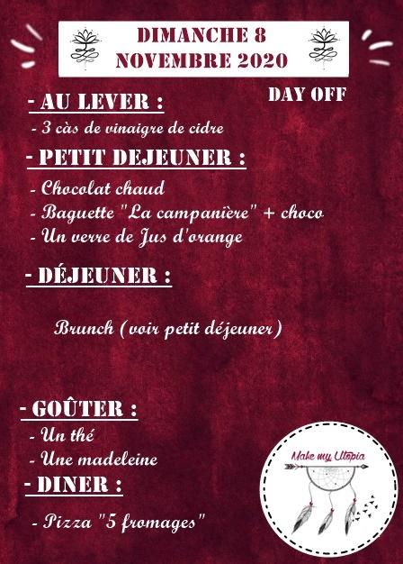 Journée 08.11 - Une semaine dans mon quotidien - www.makemyutopia.com