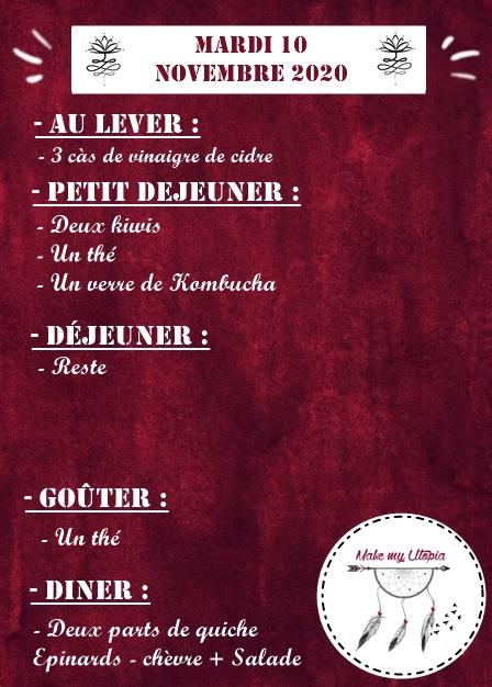 Journée 10.11 - Une semaine dans mon quotidien - www.makemyutopia.com