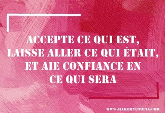 Novembre Citations - Motivation - CONFIANCE - www.makemyutopia.com