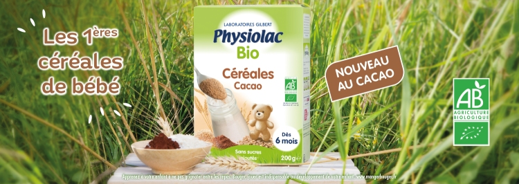 PHYSIOLAC CEREALES CACAO BIO