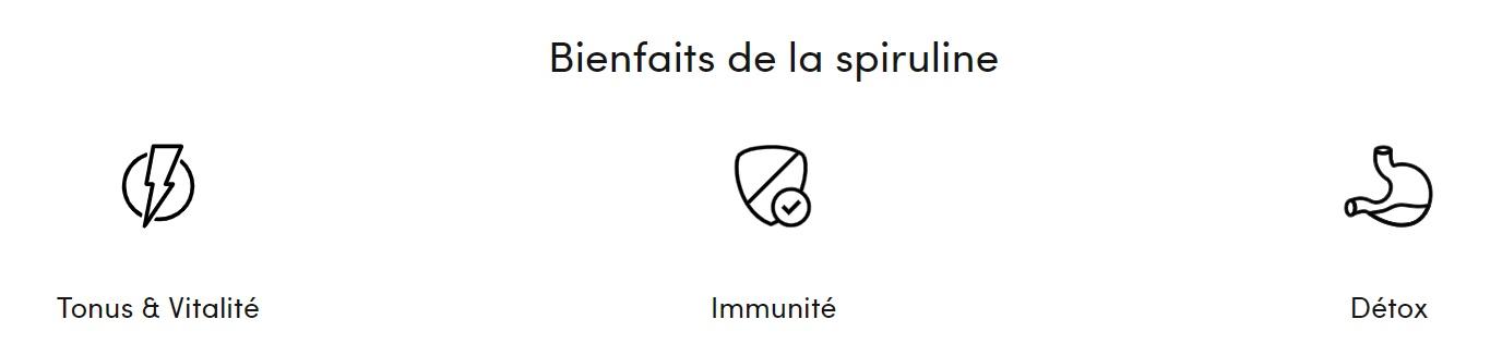 bienfaits spiruline nutrivita