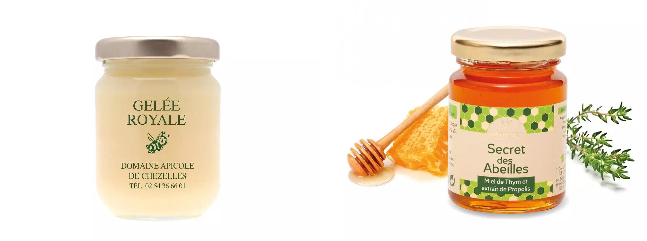 produits domaine apicole de chezelles propolis gelée royale