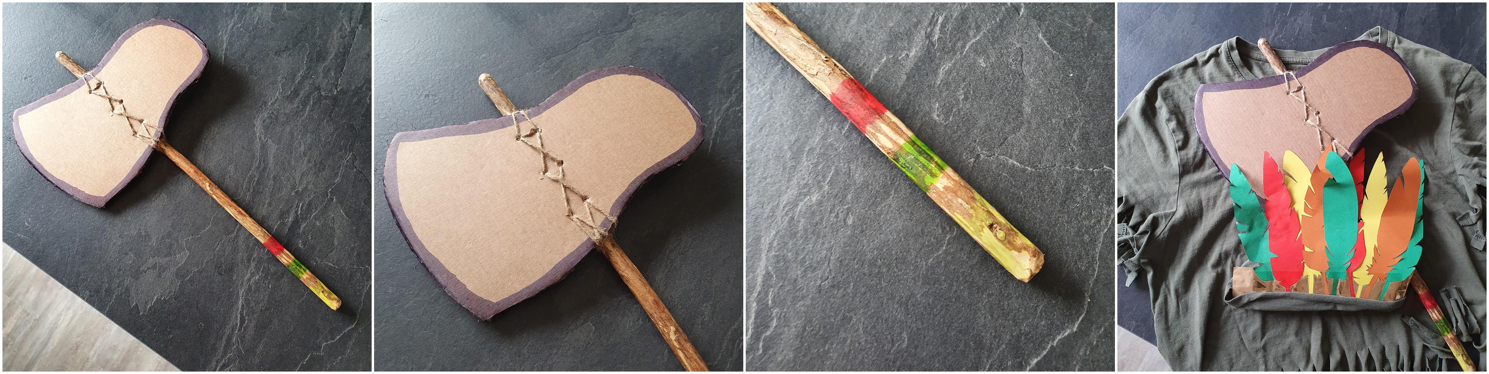 DIY déguisement indien mardi gras - www.makemyutopia.com