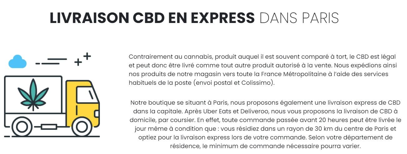 cbd house paris livraison express