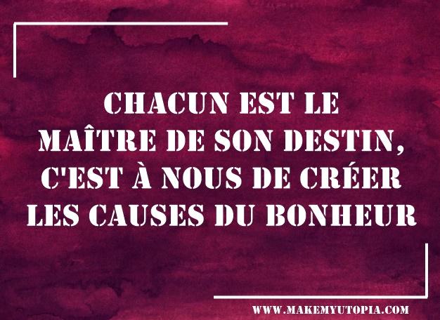 citation motivation maitre destin www.makemyutopia.com