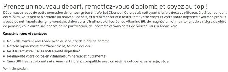descriptif cleanse www.makemyutopia.com