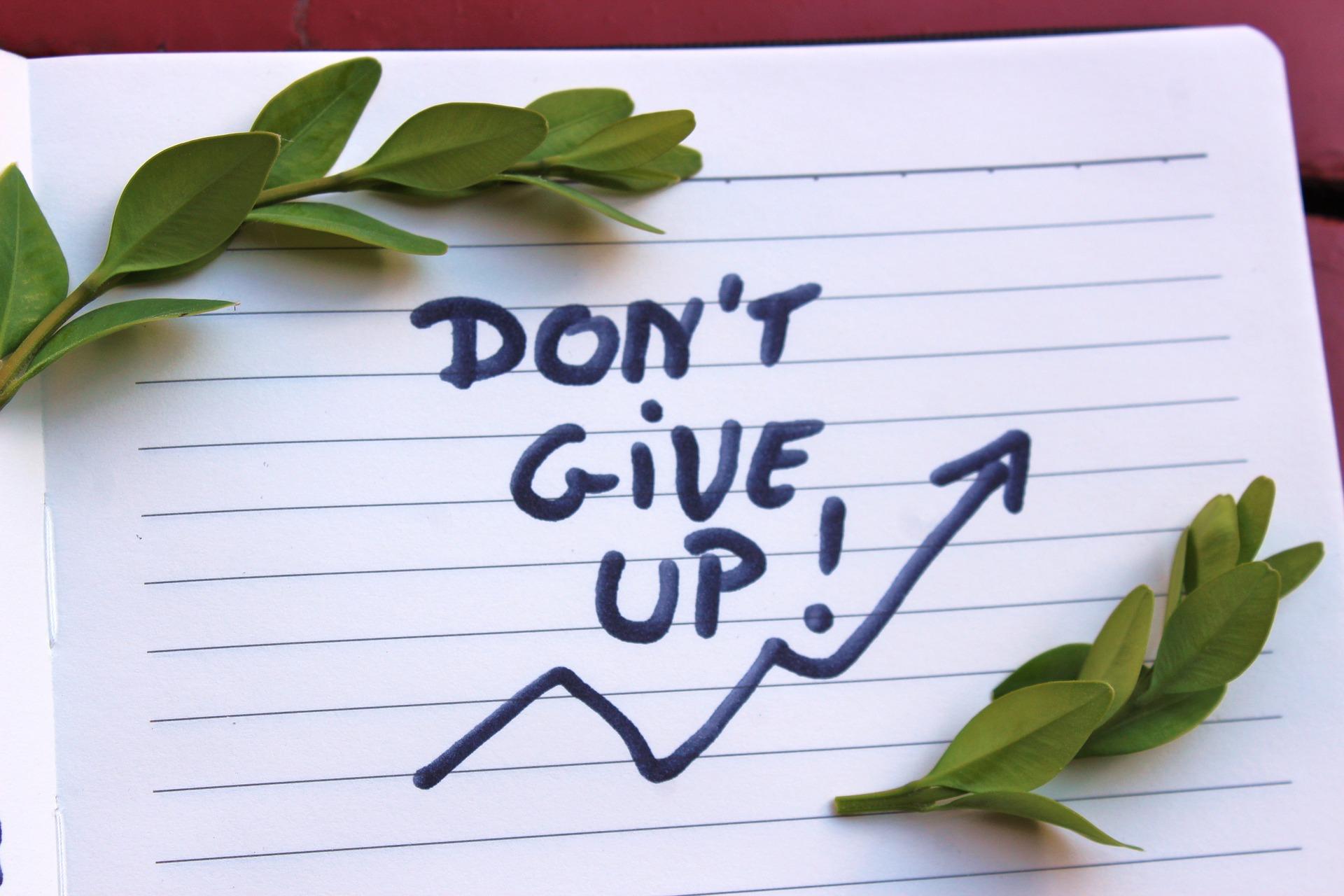 dont give up motivation